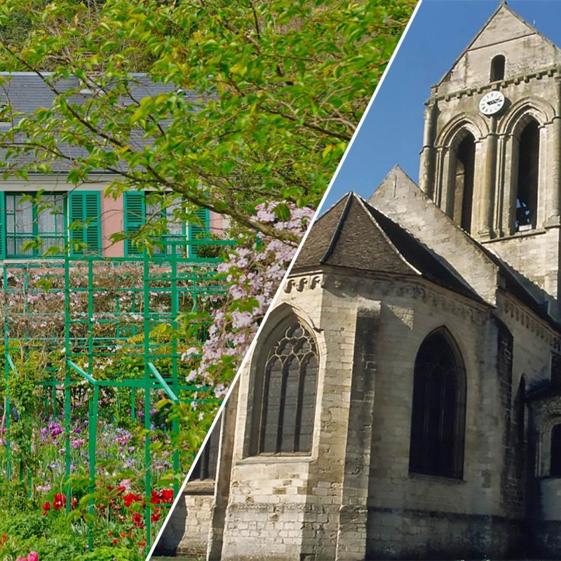 Giverny and Auvers sur Oise - Full day tour